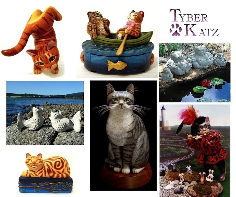 Tyber Katz Cat Art and Collectibles